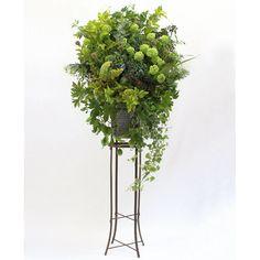 Fleurs des Champs フルール・ド・シャン[野の花スタンド] グリーン   スタンドフラワー   kusakanmuriオンラインショップ
