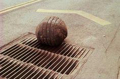 Yielding Stone (Piedra Que Cede), 1992. Plasticine and dust. | BOMB Magazine — Gabriel Orozco by Carmen Boullosa