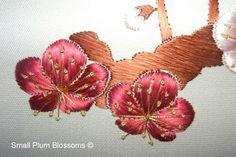 Nejiribana-spiralling flower designs