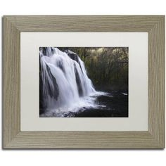 Trademark Fine Art Evanescence Canvas Art by Mathieu Rivrin, White Matte, Birch Frame, Size: 16 x 20