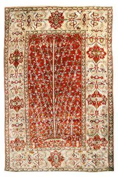 Heriz Seide Persien 180 x 127 cm