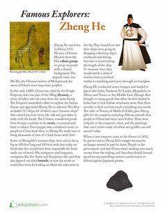 zheng he accomplishments