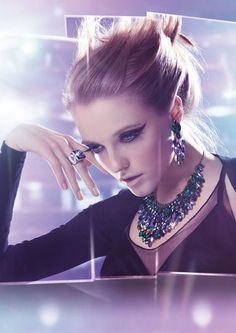 Swarovski Winter Collection 2012  #nightfever #jewels4evryoccasion