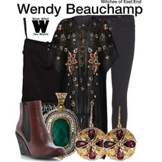 """Witches of East End"" by wearwhatyouwatch on Polyvore"