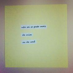 #autoajudadodia por @Carolina Santos! Essa vai para todo mundo que está apaixonado!