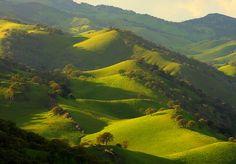 Northern California hills