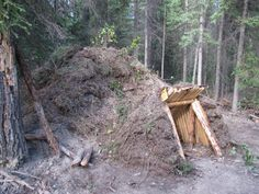semi- subterranian earth lodge in Camp & Shelter Forum