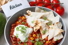 Zaboduj s úžasným a jednoduchým jedlom. Chilli con carne zachutí každému (Recept) – Fitclan Salsa, Clean Eating, Tacos, Mexican, Breakfast, Ethnic Recipes, Fit, Healthy Lunches, Comfy