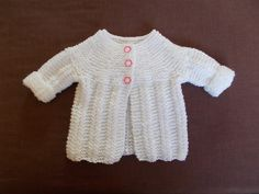 Ravelry: Nina Baby Jacket pattern by marianna mel