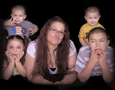 My Family pose! SillyFaces