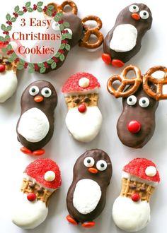 3 Easy Christmas Cookies | eBay