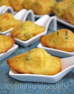 Petites madeleines saumon et Kiri, à DÉVORER :) #kiri #recette #gourmand #madeleine #cream #cheese #recipe #easy #apero