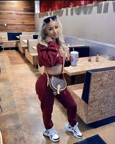 Cute Swag Outfits, Chill Outfits, Dope Outfits, Trendy Outfits, Fashion Outfits, Fashion Ideas, Womens Fashion, Jogging, Winter Outfits