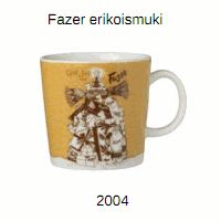 Fazer special mug. In production Numbered mugs 400 pcs.