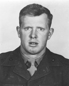 Valor award to SSgt William Edward Shuck, Jr. (1926-1952) USMC. Medal of Honor (posthumously) for conspicuous gallantry and intrepidity at the risk of his life above and beyond the call of duty on 3 July 1952, in action against against enemy aggressor forces in Korea. His unyielding courage throughout reflects the highest credit upon himself and the United States Naval Service. He gallantly gave his life for his country.