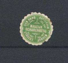 Netherlands cinderellas #382 - Scharenberg the Hague Rotterdam Utrecht Arnhem