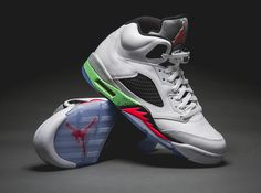 Air Jordan 5 Retro 'Prostars' Poison Green