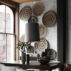 Handmade Home Decor African Interior, African Home Decor, Decor Interior Design, Interior Decorating, Decorating Ideas, Interior Walls, Modern Interior, Modern Baskets, Style Deco