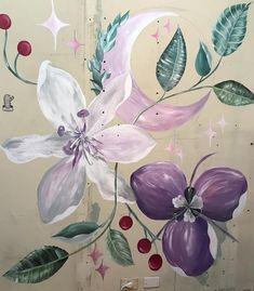 """👆🏼Cuando pones en Google """"flores exoticas"""" y te copás con los astros 🤣💫🔮✨🌸🌙🚀🌟 . . . . . #mural #botanica #muralbotanico #botanicalmural… Los Astros, Instagram, Google, Plants, Flowers, Planters, Plant, Planting"""