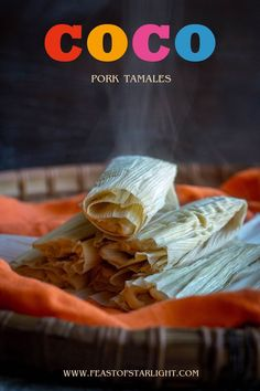 recipe for pork tamales inspired by the Oscar nominated Disney Pixar movie, Coco.A recipe for pork tamales inspired by the Oscar nominated Disney Pixar movie, Coco. Disney Pixar, Film Disney, Disney Movies, Pixar Movies, Disney Themed Food, Disney Inspired Food, Disney Dishes, Disney Desserts, Disney Food Recipes