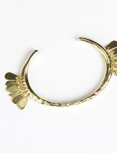 The new @31bits Feathered Cuff bracelet