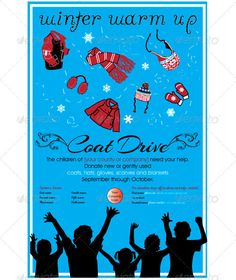 free clothing drive flyer template