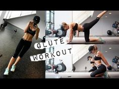 At Home/Limited Equipment Glutes Workout | allegralouise - YouTube