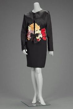 1989 Womans evening ensemble, Geoffrey Beene from the Museum of Fine Arts, Boston