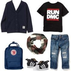 Set 11 Run Dmc, Fall Capsule Wardrobe, Running, Boys, Polyvore, Jackets, Fashion, Baby Boys, Down Jackets