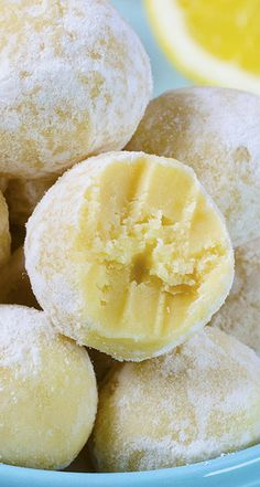 White Chocolate Lemon Truffles Recipe