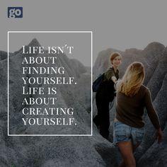go-models für Model & Modelling & Agentur Portal, Create Yourself, Finding Yourself, Online Modeling, Monday Motivation, Fitness Models, Motivational Quotes, Life, Motivation Quotes