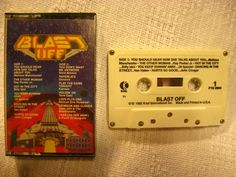 BLAST OFF K-Tel Rock Music Cassette Tape 1982 Stereo Billy Idol Van Halen Kansas