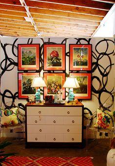 I love the prints, mats, frames.