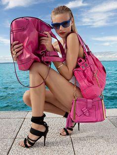 Pink purses!
