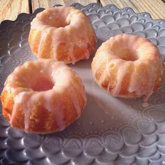 Pink Lemonade Mini Bundt Cakes