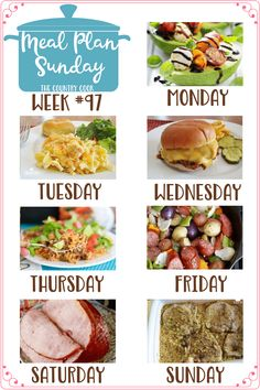 Meal Plan Sunday rec Meal Plan Sunday recipes include: Caprese Stuffed Avocado Chicken Noodle Casserole Homemade Sloppy Joes One-Pan Taco Rice Dinner One Pan Little Potato Sausage Bake Crock Pot Holiday Ham Country Pork Chops and Rice Family Meal Planning, Planning Budget, Menu Planning, Homemade Sloppy Joes, Sloppy Joes Recipe, Bratwurst, Sunday Recipes, Dinner Recipes, Sausages In The Oven