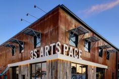3S Artspace Portsmouth, NH A606 Weathering Steel Flat panels and Sinusoidal Corrugated Facade Panels McHenry Architecture