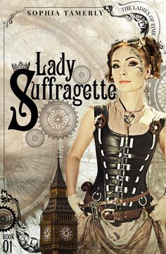 This steam punk novel is one of my favorite covers. Custom designed book cover for eBooks and print.