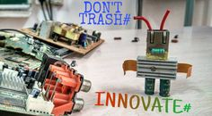 Be innovative# a step in saving the electrical waste# yes we all can do# by bring our ideas together in making creative arts # spread ing awerness. Creative Art, Innovation, Art Gallery, Bring It On, Canning, Future, Ideas, Art Museum, Creative Artwork