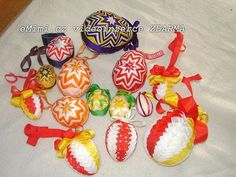 velikonoční vajíčka- patchwork na našem mimibazaru