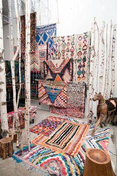 Bohointerior decor, boho decorating, Boucherouite Rug, scandinavian interior decor, home decor, white interior, moroccan rug, vintage living room, vintage interior decorating