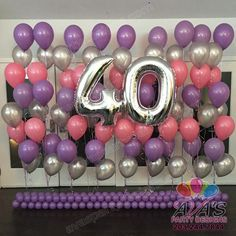Welcome your guest in with a simple floor or table balloon bouquet. View Gallery