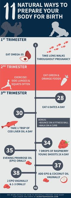 11 Natural Ways to Prepare Your Body for Birth by Trimester. How To Sleep In Pregnancy Second Trimester Doula, Pregnancy Labor, Pregnancy Health, Pregnancy Belly, Pregnancy Day By Day, Prepping For Pregnancy, Healthy Pregnancy Diet, Pregnancy Fashion Winter, Pregnancy Timeline