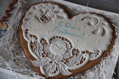 Купить Пряники с днем рождения - белый, пряники, пряники ручной работы, пряники на заказ