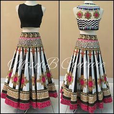 Playful Concerto, midi lehenga by MischB Couture