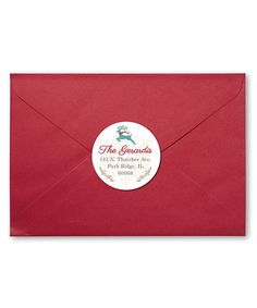 Personalized Planet Happy Holidays Personalized Return Address Label - Set of 72   zulily