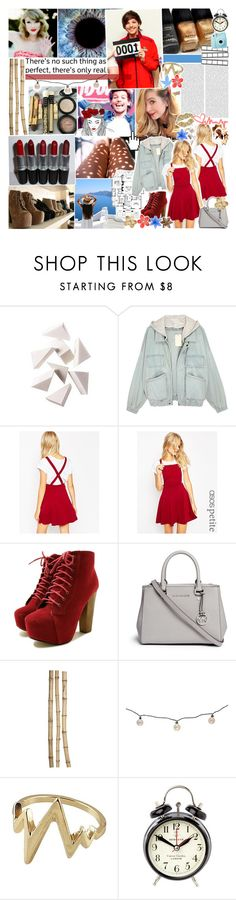 """""""528. we were all heading for each other on a collision course, no matter what. maybe some people are just meant to be in the same story ♫"""" by shenanay ❤ liked on Polyvore featuring DC Shoes, Bobbi Brown Cosmetics, ASOS, Michael Kors, Crate and Barrel, Threshold, Newgate, women's clothing, women and female"""
