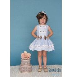 Vestido Niña Topos de Dolce Petit