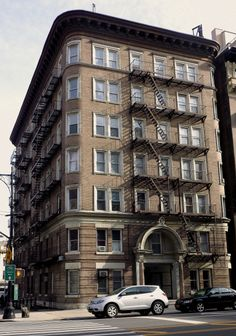 An apartment house on the Upper West Side, Manhattan.