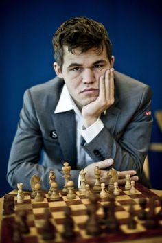 Magnus Carlsen, current World Chess Champion (1990) | Practiced chess from a young age and possesses a natural aptitude for understanding relationships between two numbers or pieces. Bonus: looks like a Norwegian Matt Damon